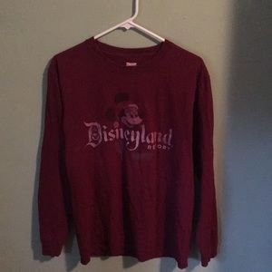 Christmas Mickey Long Sleeve Tee